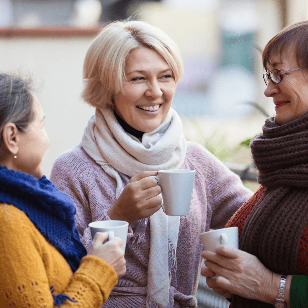 The advantages of a low maintenance condo women talking image