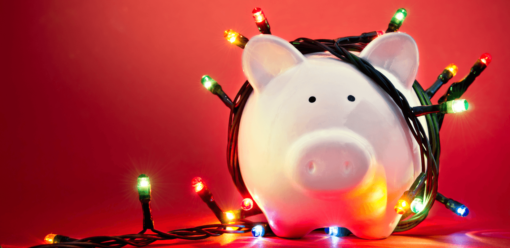 Tips for Christmas Shopping on a Budget Pig Featured Image