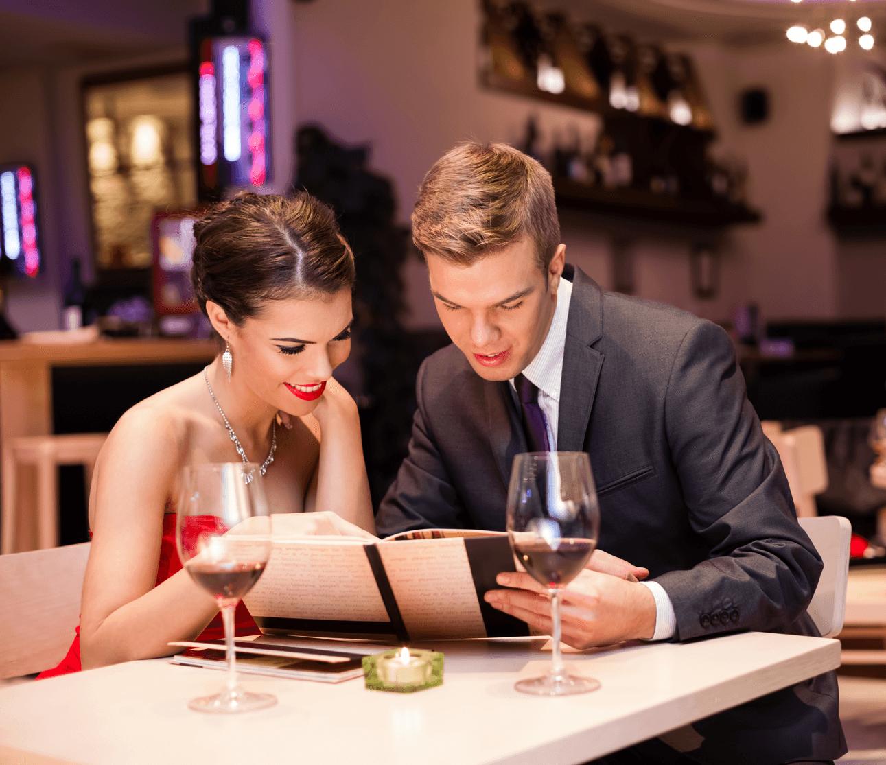 Calgary's Best Spots for Valentine's Day Dinner Menu Image