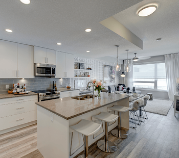 Questions to Ask Before Buying an Apartment Condo Kitchen Image