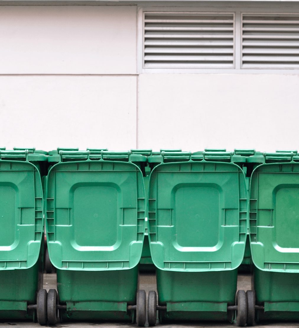 Calgary's Green Cart Food and Waste Program Bins Image