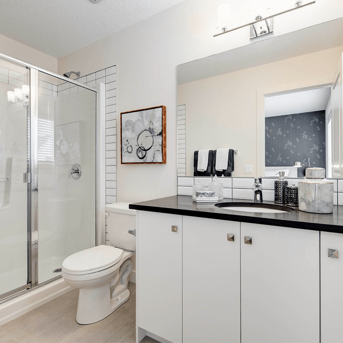 Comparing Value: Choosing the Right Options To Personalize Your Home Bright Ensuite Image