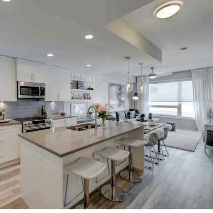 Showhome 101: Seeing Past the Décor Kitchen Image