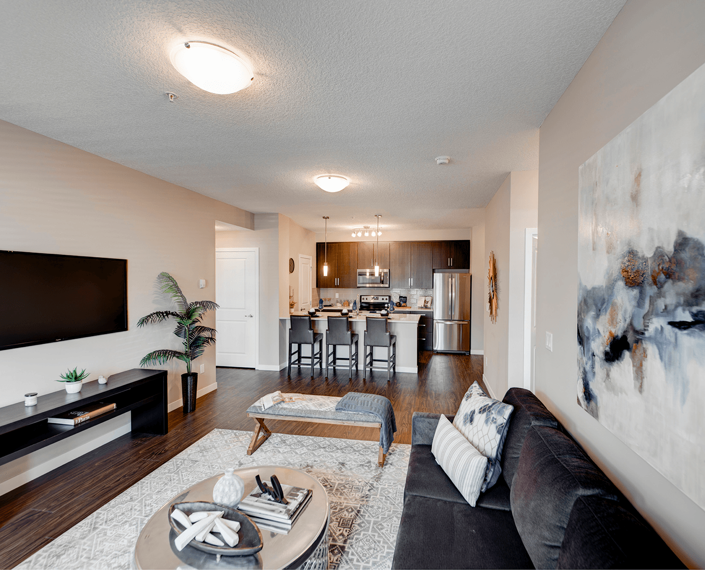 Comparing Value: Choosing the Right Condo Style Interior Image