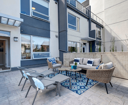 Comparing Value: Choosing the Right Condo Style Patio Image